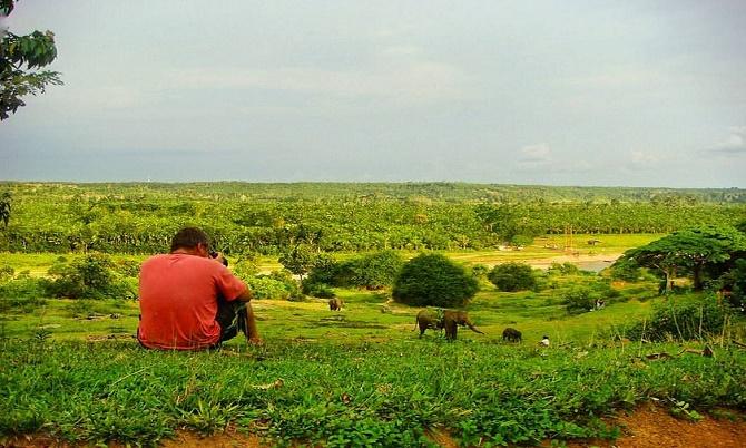 Salah satu tempat di Putri Hijau dengan penamdangan indah (Foto: Sodian Rafflesia)